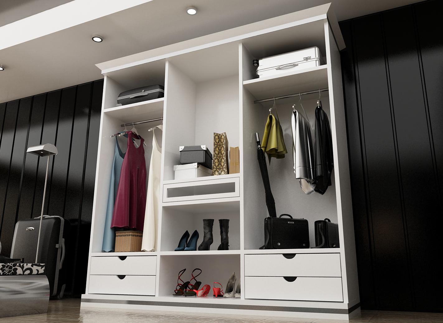 Dormitorios hogares muebles for Muebles empotrados para dormitorios
