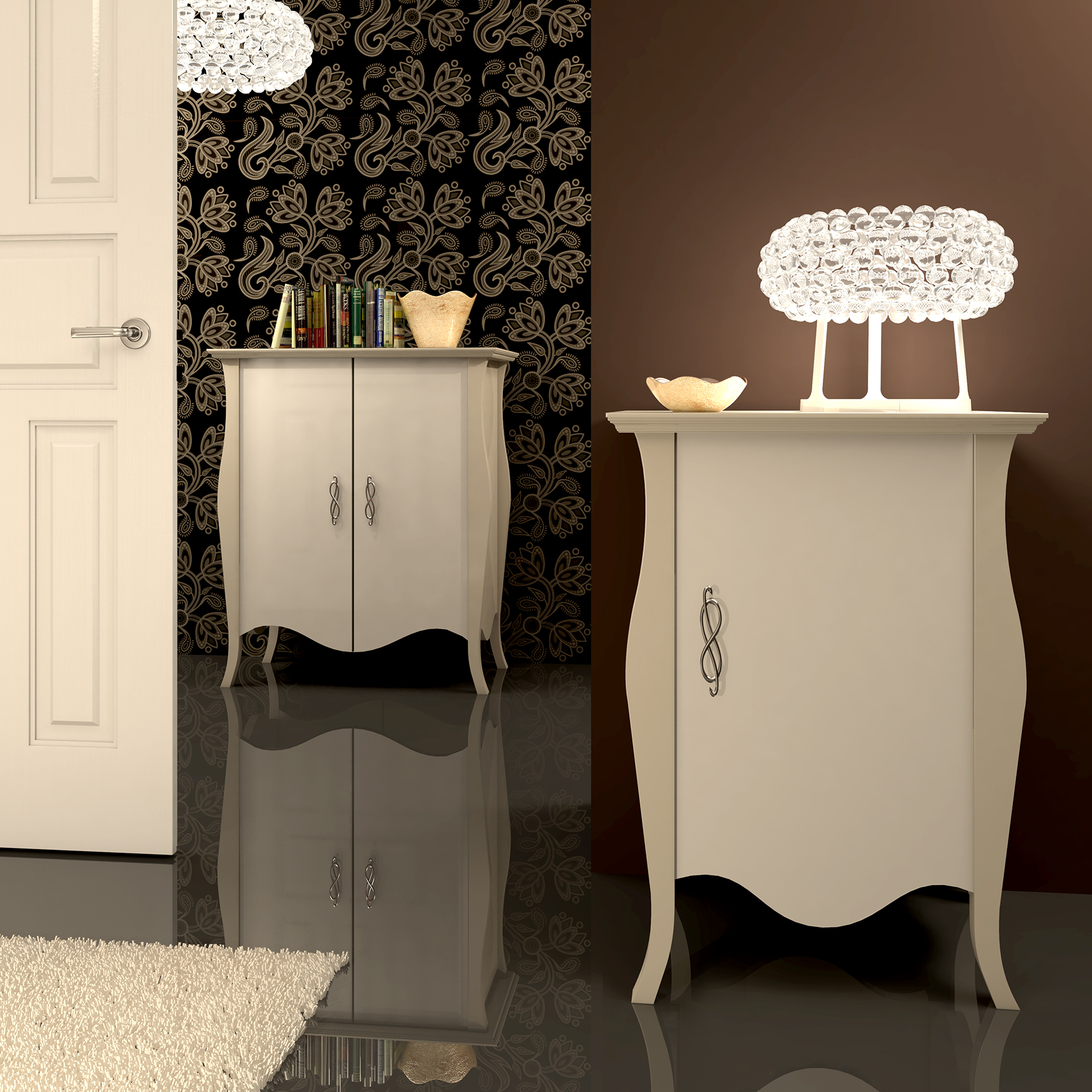 Muebles auxiliares obtenga ideas dise o de muebles para for Muebles barbed